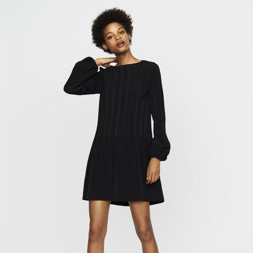 Abito plissettato : Vestiti colore Nero