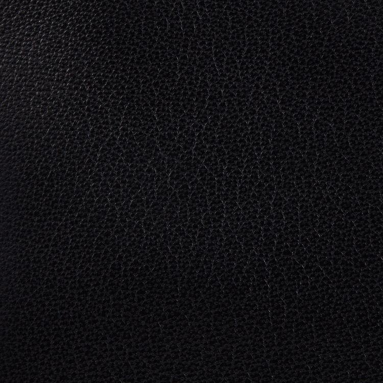 Borsa a M con frange in pelle : Borse M colore Nero