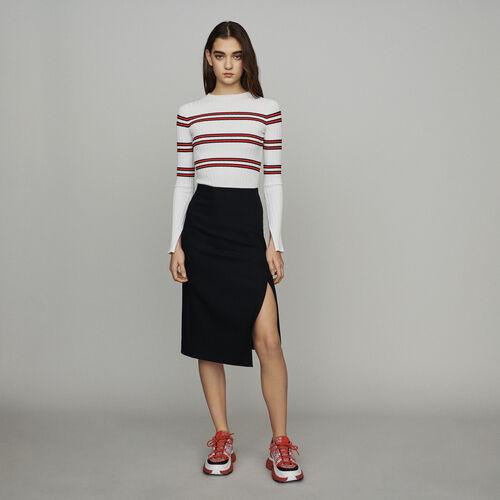 Gonna a tubo : Gonne e shorts colore Nero