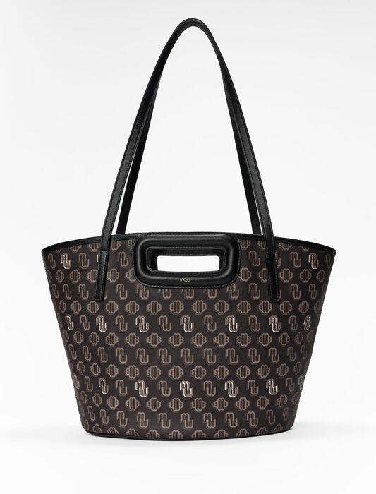 Shopper M in tela Clover : Nuova collezione colore Marrone