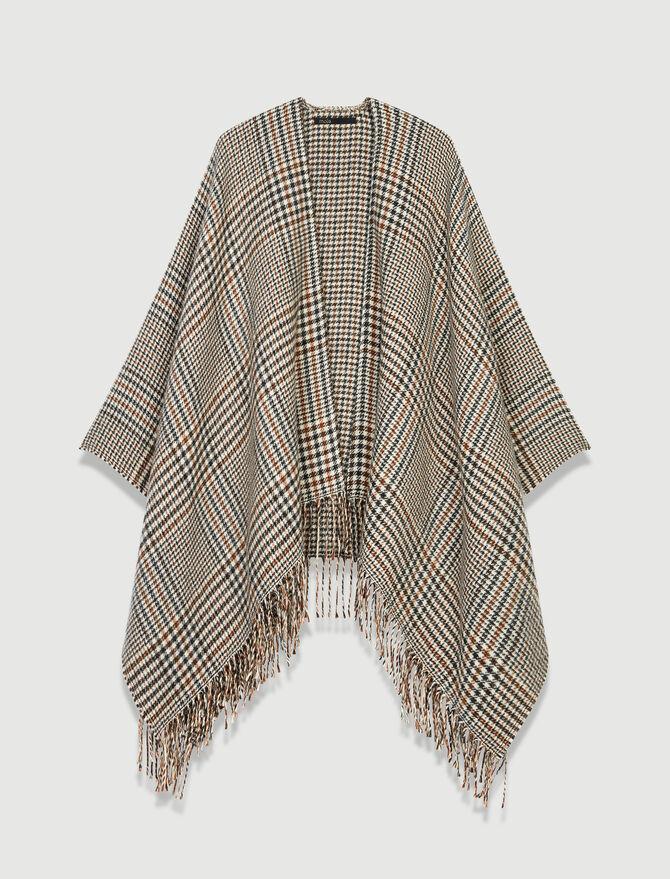 Poncio in misto lana -  - MAJE
