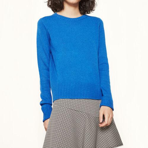 Pullover in cachemire : Collezione colore Grigio Chiné