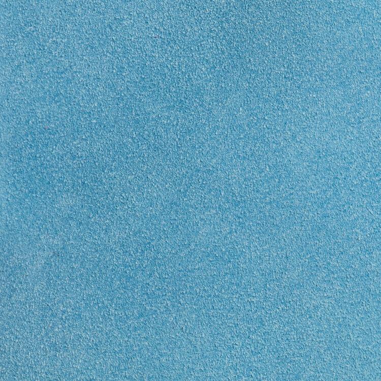 Borsa M in suede : Borse M colore Blu