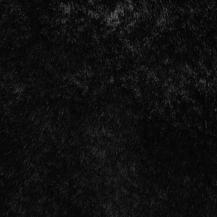 Borsa M in pelliccia fantasia : Borse M colore Nero