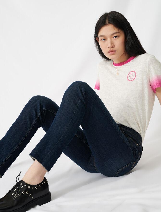 Jeans slim a vita alta - eco-sostenibile - MAJE