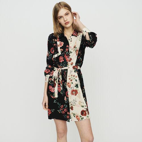 Robe-chemise à imprimé floral : Vestiti colore IMPRIME