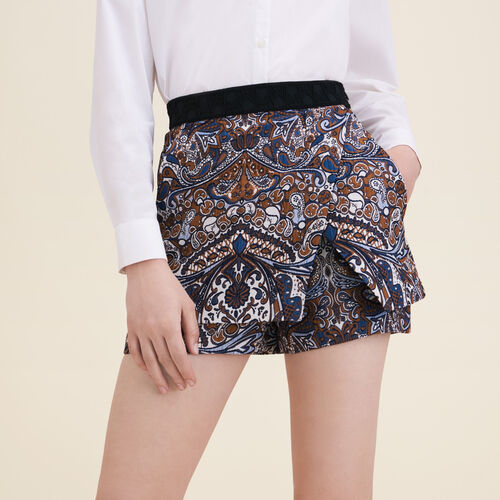 Short-gonna in jacquard : Gonne e shorts colore Jacquard