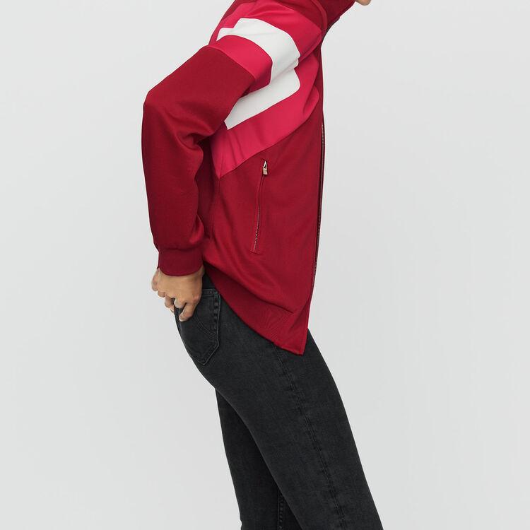 Giubbotto sportivo : Giacche colore Lampone