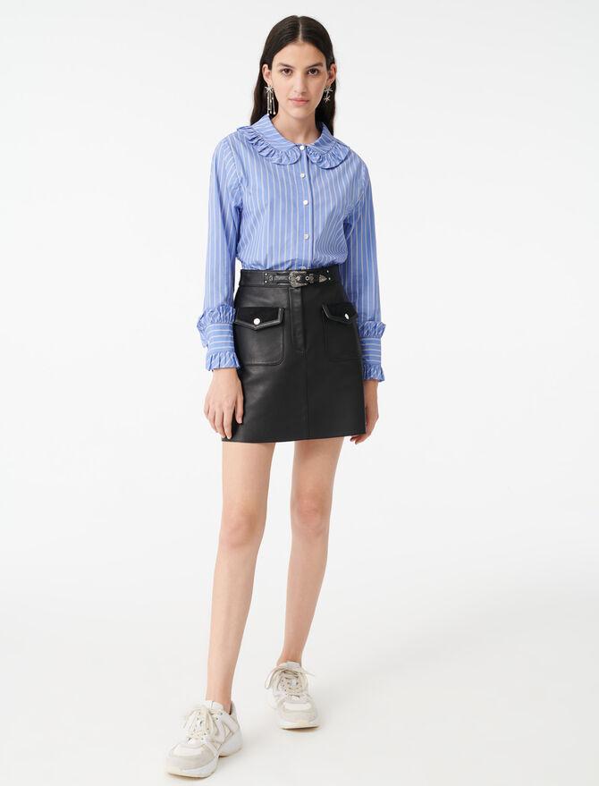 Camicia a righe con colletto rotondo - Tops e Camicie - MAJE