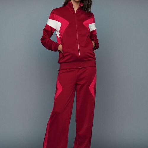 Pantaloni da  jogging : Pantaloni colore Lampone