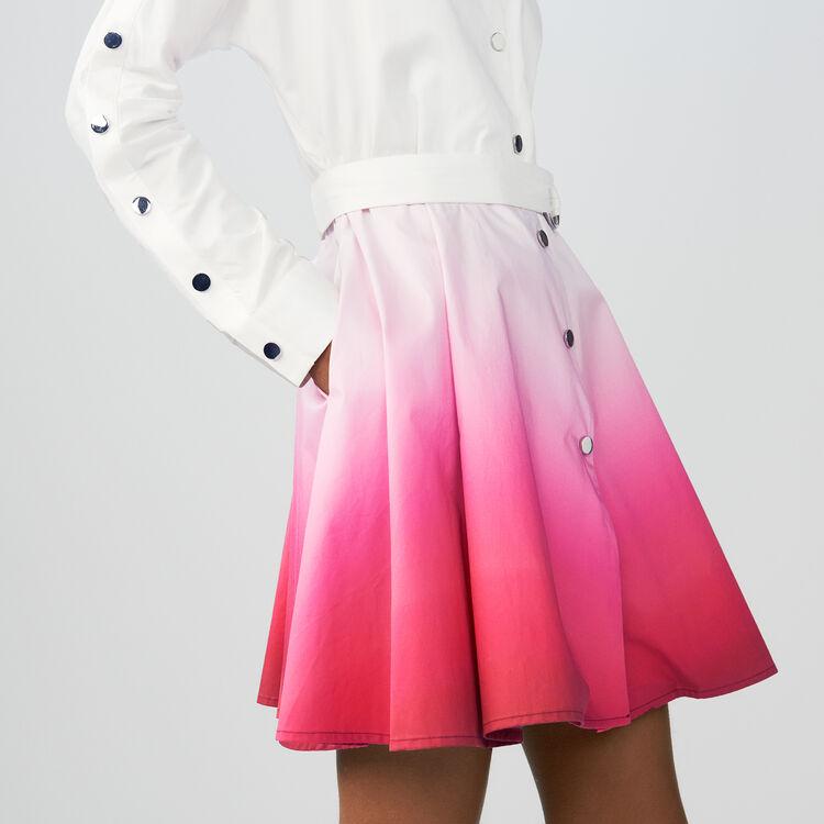 Scamiciato tie and dye : Vestiti colore Bicolore
