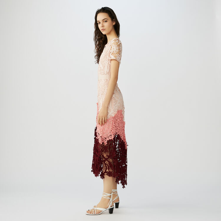 Vestito lungo in tessuto tecnico : Vestiti colore Multicolore