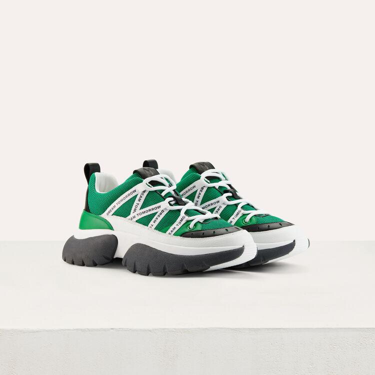 Sneakers di cita W20 di nylon : Sneakers colore Verde