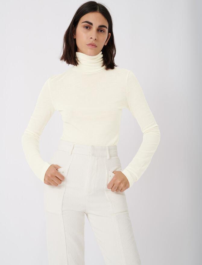Maglietta sotto il maglione - T-Shirts - MAJE