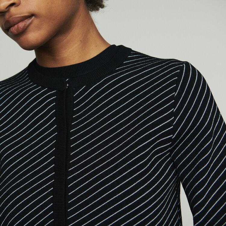 Cardigan corto a righe : Pullover e cardigan colore A Righe
