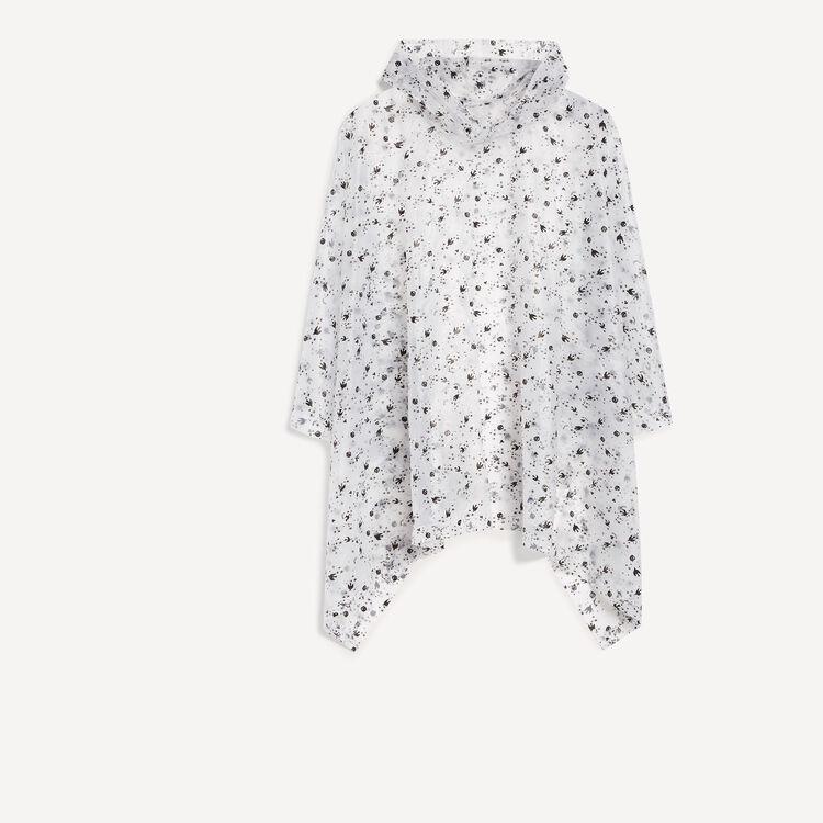 rain cape : Gift with purchase colore Bianco