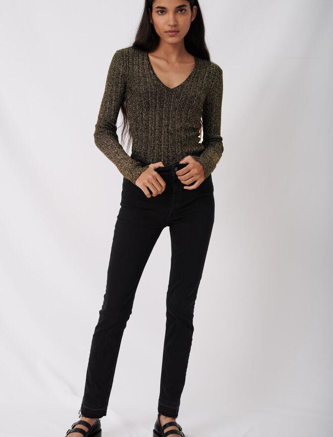 Jeans slim basici - eco-sostenibile - MAJE