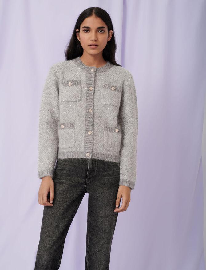 Cardigan lurex - Pullover e cardigan - MAJE
