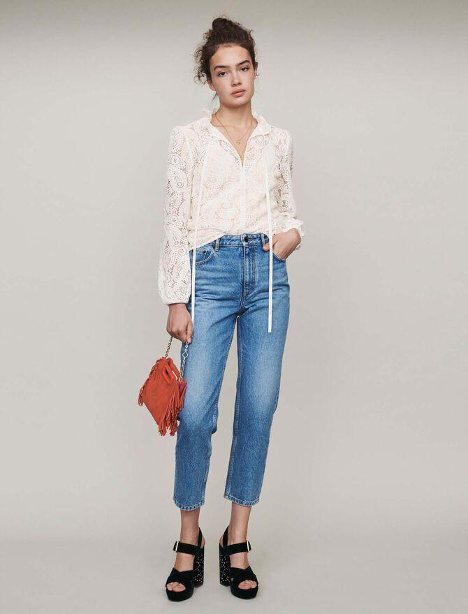 Jeans a vita alta - Pantaloni e Jeans - MAJE