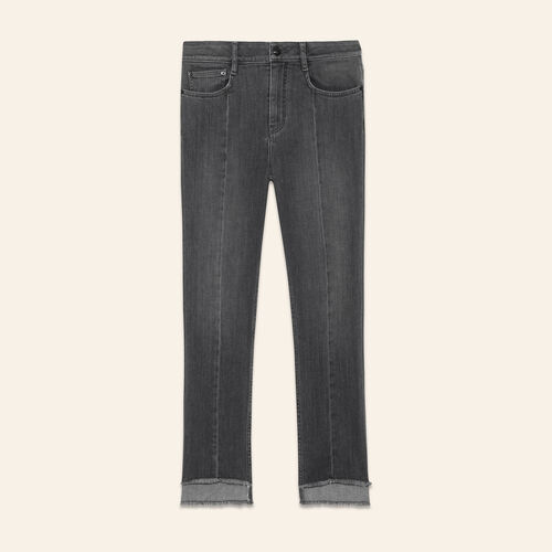 Jeans lunghezza asimmetrica - Jeans - MAJE