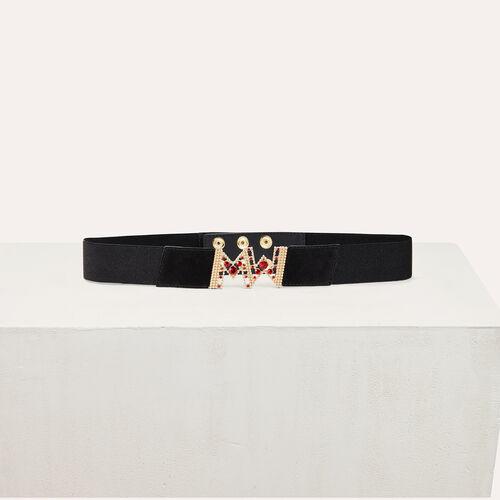 Cintura alta elasticizzata - Cinture - MAJE