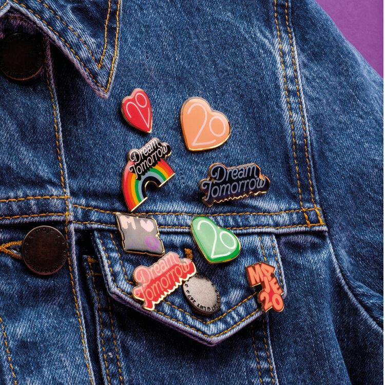 Le Spillette X 20 anni : Urban colore Multicolore