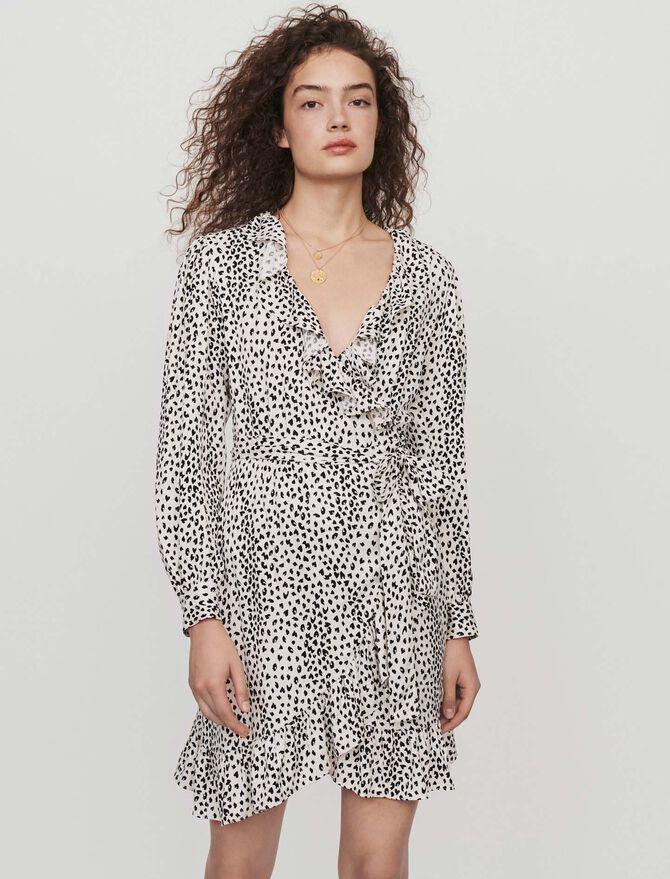 Vestito scalda cuore in  jacquard - Midseason-Sales_IE_Bestsellers - MAJE