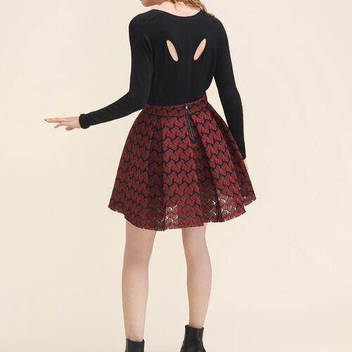 Pullover sottile in misto lana : Pullover e cardigan colore Ecru
