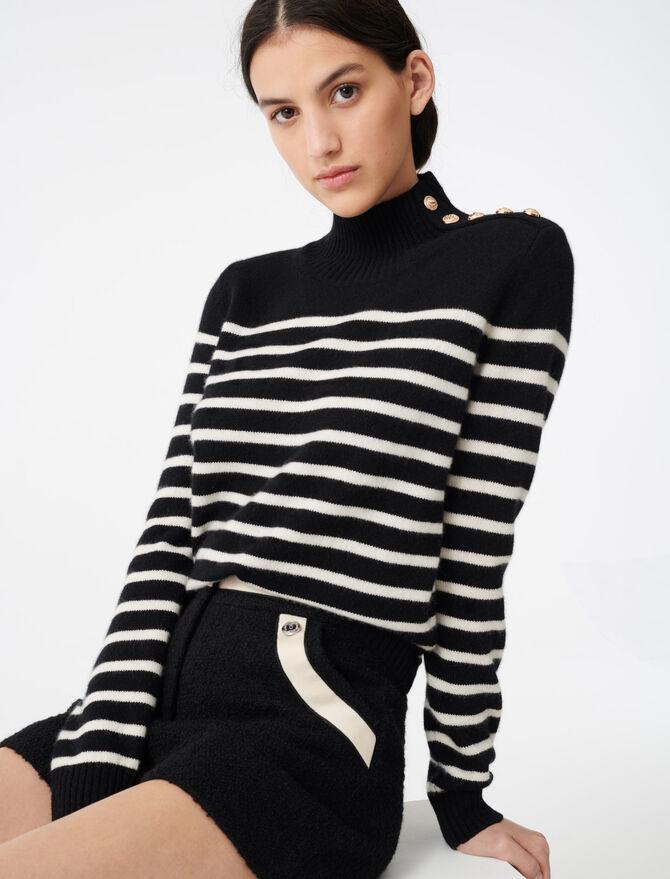 Maglione in cachemire stile nautico - Pullover e cardigan - MAJE