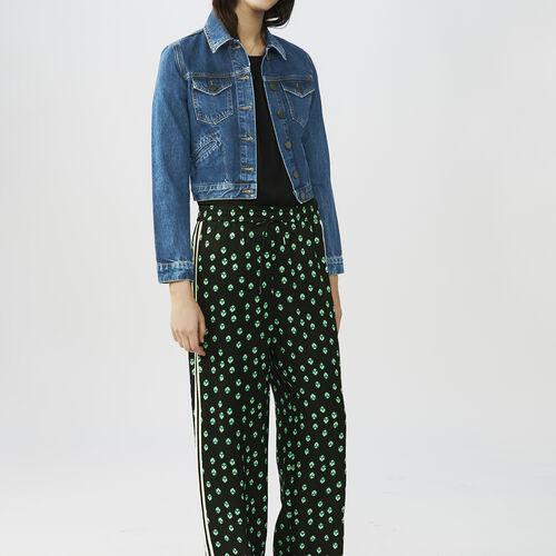 Pantaloni loose stampati : Pantaloni & jeans colore IMPRIME