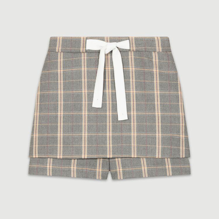 Short a quadri : Gonne e shorts colore CARREAUX