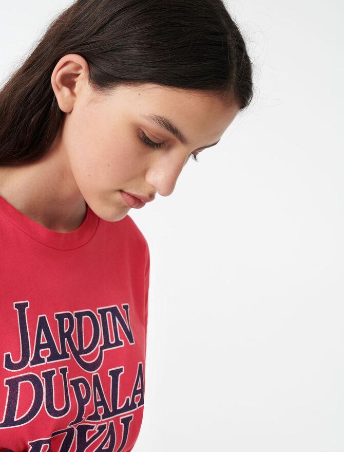 T-shirt serigrafata -  - MAJE