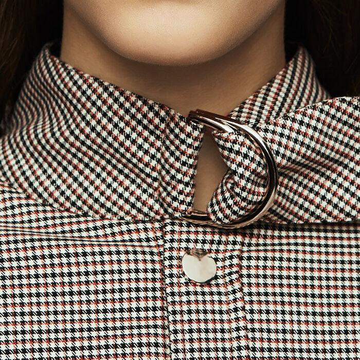 Sopra camicia con stampa pied-de-coq : Giacche colore CARREAUX
