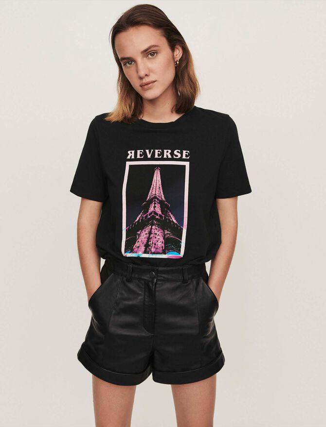 Tee-shirt serigrafata -  - MAJE