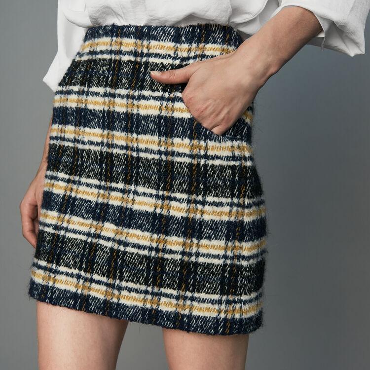 Gonna corta a quadri : Gonne e shorts colore CARREAUX