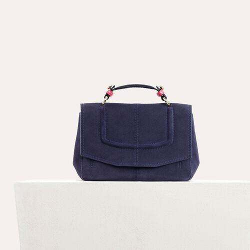 Borsa stile mini cartella bicolore : Borse LDance colore Nero