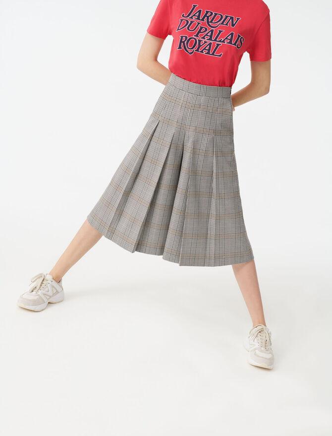 Pantaloni a quadri stile bermuda - Pantaloni e Jeans - MAJE