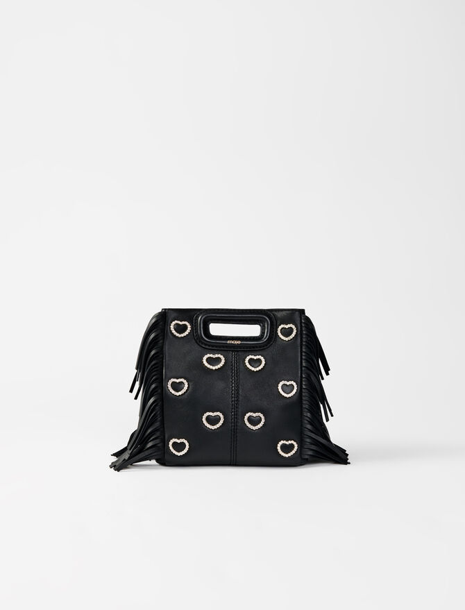 Borsa M mini in pelle strass -  - MAJE