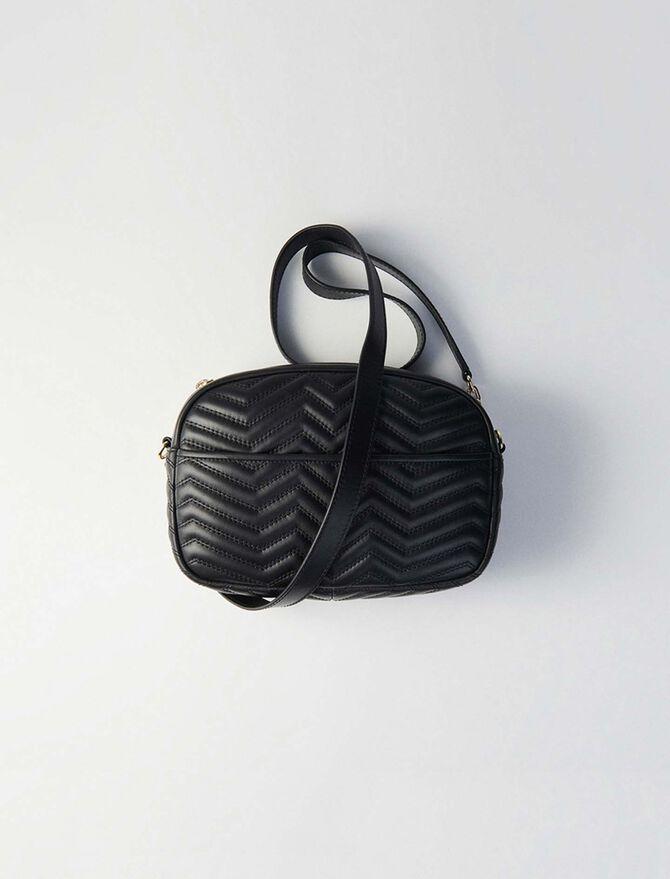 Heeled smooth leather booties - Sami bag - MAJE