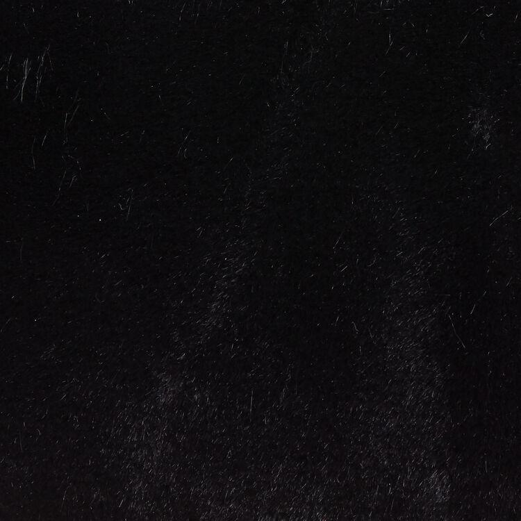 Borsa da sera in pelliccia ecologica : Borse LDance colore Nero