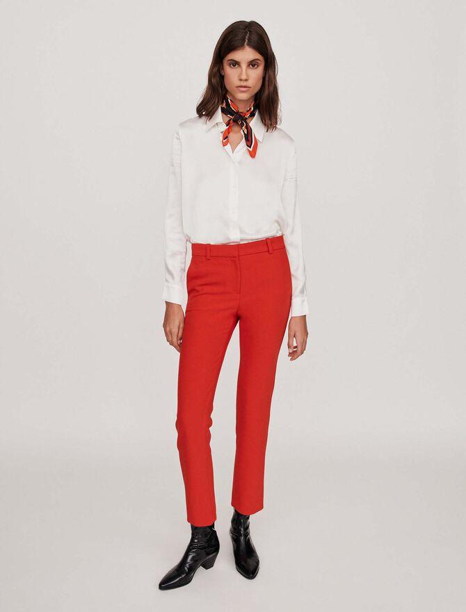 Straight-leg pants - Pantaloni - MAJE
