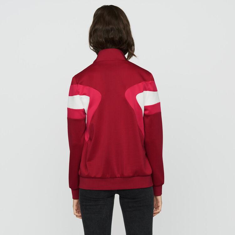Giubbotto sportivo : Prêt-à-porter colore Lampone