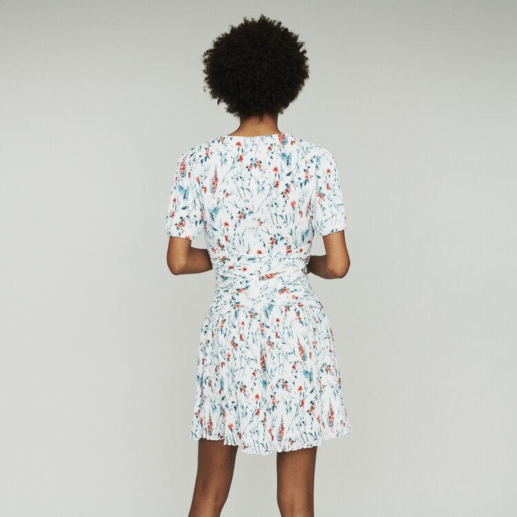 Vestito corto stampato : Vestiti colore IMPRIME