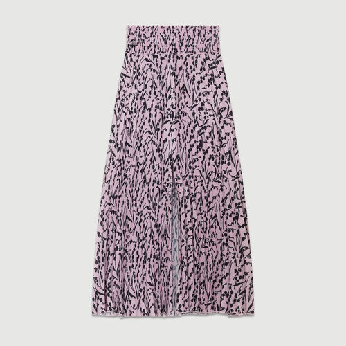 Printed pleated skirt : Gonne e shorts colore IMPRIME