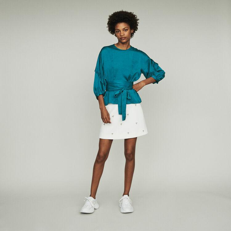 Top ad annodare : Tops e Camicie colore Blu