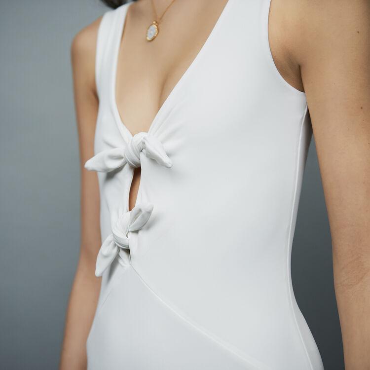 Costume da bagno impermeabile : Costumi da bagno colore Bianco