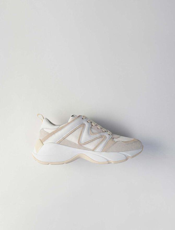 Sneakers W22 multimateriali -  - MAJE