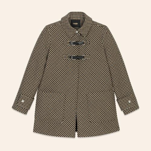 Cappotto a quadri Principe di Galles : Cappotti colore Jacquard