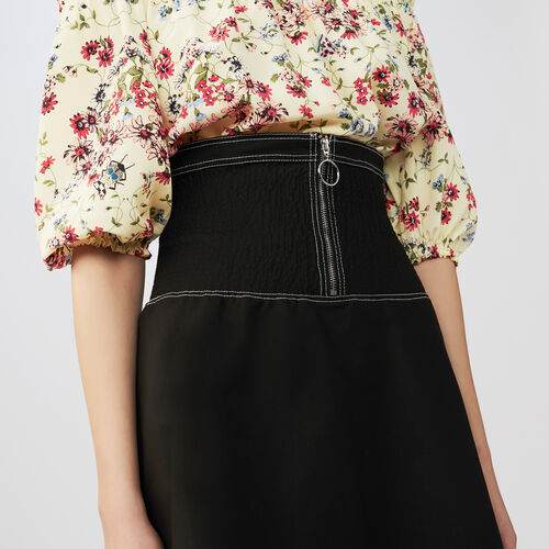Short smock skirt : Gonne e shorts colore Nero