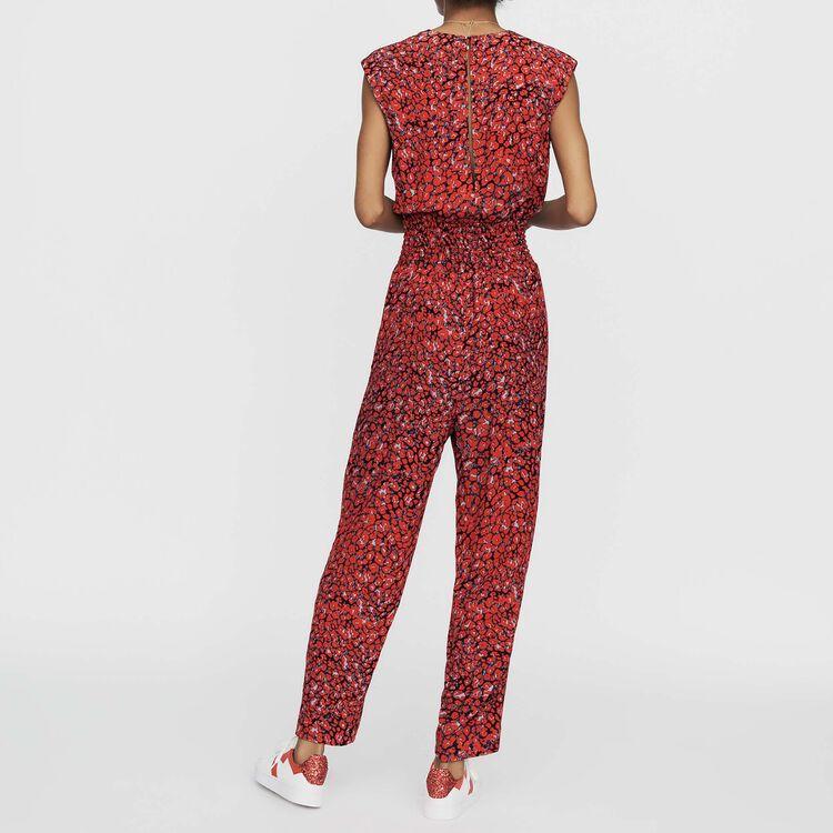 Tuta senza maniche con stampa : Pantaloni colore IMPRIME